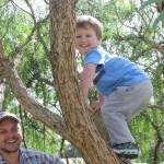 Children love climbing in the Pepercorn Tree