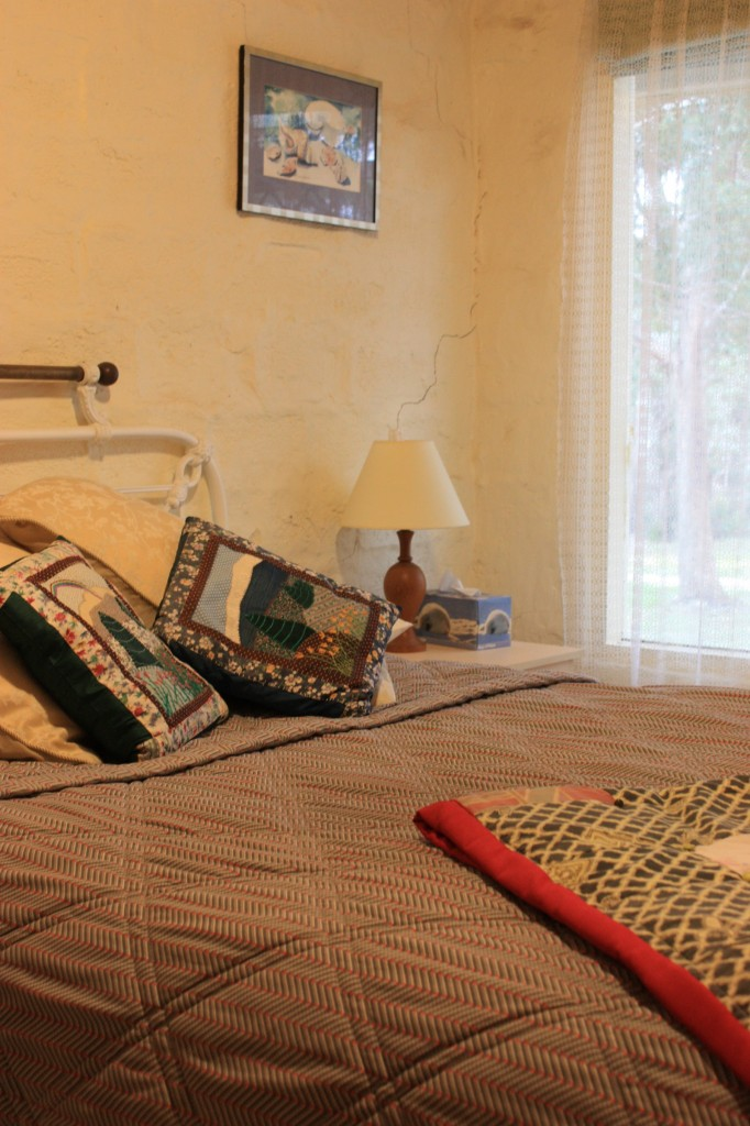 one of two guest bedroom